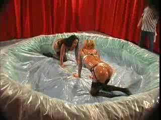 Carolyn Monroe and Jewell Marceau Sex Fight