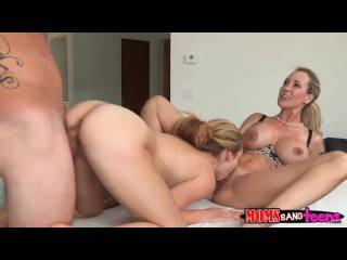 threesome sex Brandi Love – Taylor Whyte