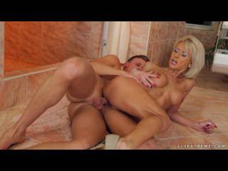 Klarisa – My son's handsome friend fucking me