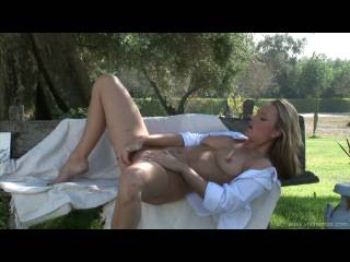 Sandra Sanchez – Private Orgasms Porn on Garden
