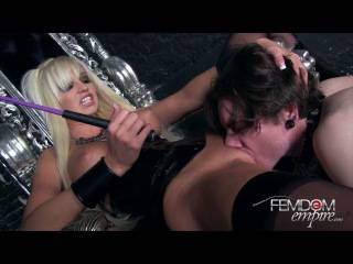 FemdomEmpire.com Videos – Slave For Lick To Pussy Hot Blonde Rikki Six
