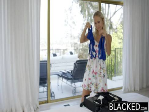 BLACKED Super Model Natasha Voya first BBC BBC porn