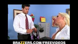 7 min Big titted blonde student Sammie Spades having some good time