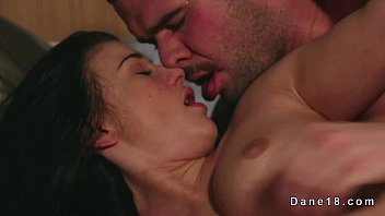 9 min Dark haired babe likes her pussy get filled softly