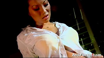 8 min sexy asian asa akira getting her wet pussy and asshole licked