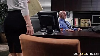 8 min Lucky Boss Johnny Sins Gets A Perfect Blowjob By Her Brunette Secretary