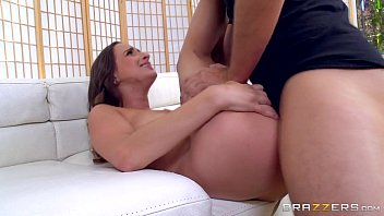 7 min Hot Brunette Ashley Adams Shakes Her Big Tits Before Getting Banged
